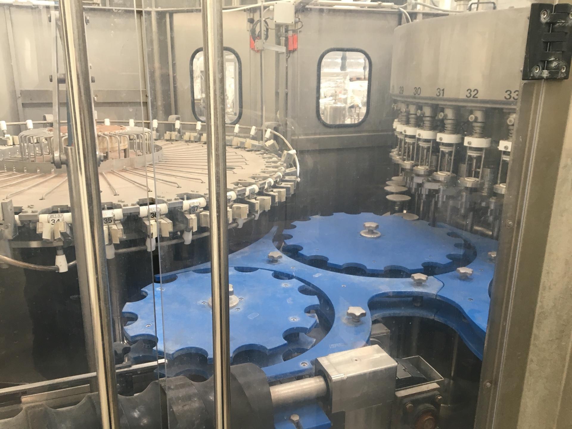 Оборудование для розлива молока, триблок до 2000